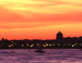 Sunset over Hudson River - New York City Travel Photography