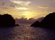 sunset at St. Barts - Caribbean Islands Travel Photography