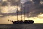 Schooner at St. Kitts - Caribbean Islands Travel Photography