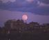 Moonrise over Backbay - Boston, MA Travel Photography